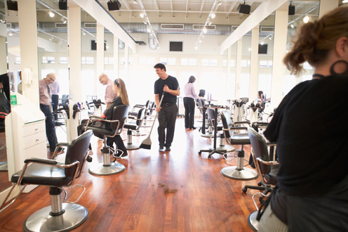 Dallas, Fort Worth, Houston, San Antonio, TX.  Hair Salon Insurance